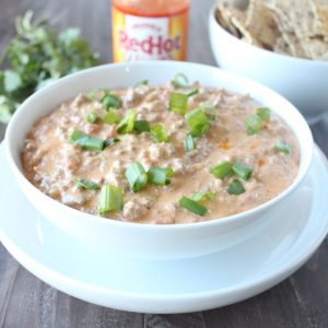 Buffalo Cheeseburger Dip
