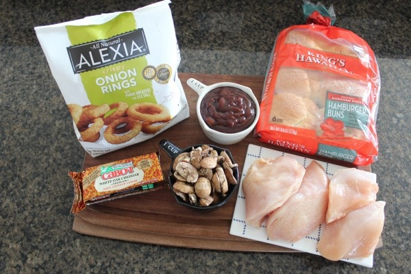 BBQ Chicken Sandwich Ingredients