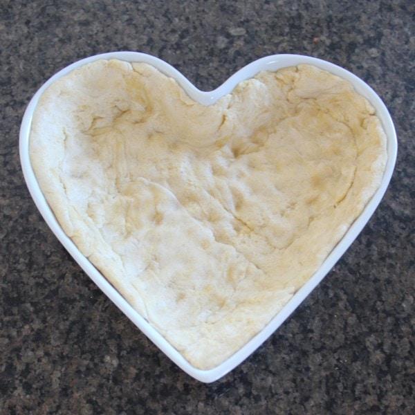 Deep Dish Heart Shaped Pizza