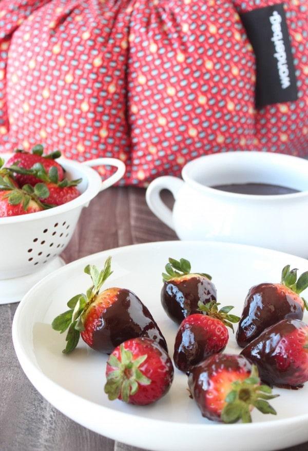Chocolate Dip Recipe for Strawberries