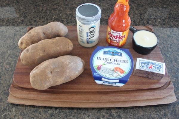 Buffalo Blue Cheese Mashed Potato Ingredients