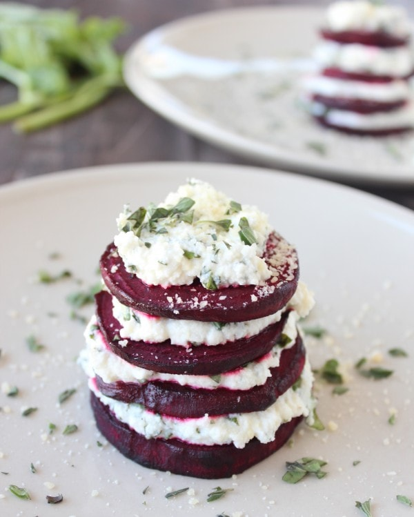 Stacked Beet Salad Recipe