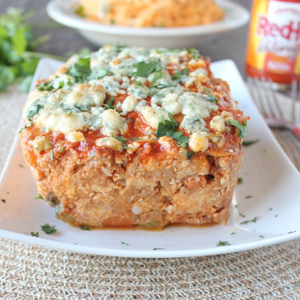 Blue Cheese Buffalo Chicken and Pork Meatloaf Recipe