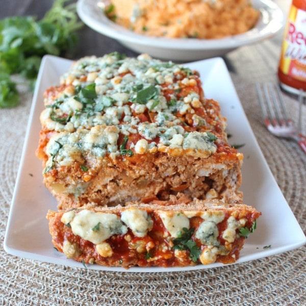 Buffalo Chicken Meatloaf Recipe