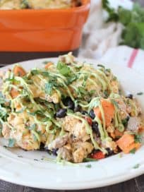 Healthy Mexican Breakfast Casserole Recipe