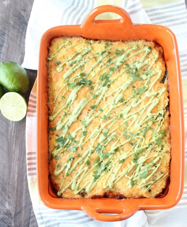 Gluten Free Tamale Casserole Recipe
