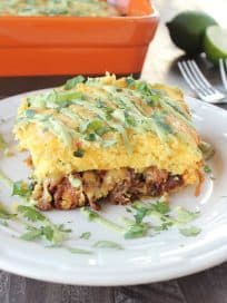 Pulled Pork Tamale Casserole Recipe