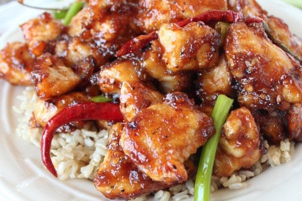Gluten Free General Tso's Chicken Recipe