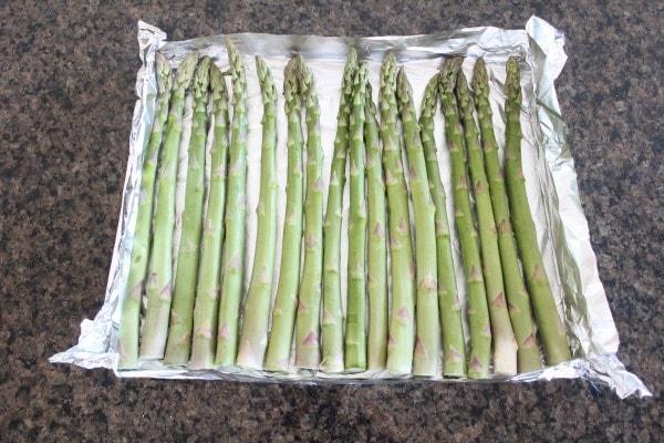 Garlic Lemon Grilled Asparagus Recipe