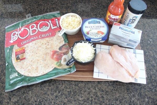 Buffalo Chicken Dip Pizza Ingredients