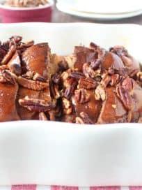 Salted Caramel Praline French Toast Recipe