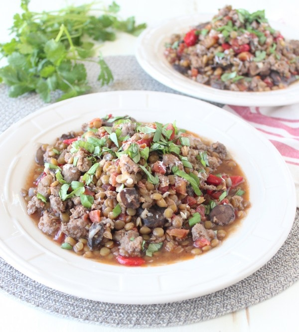 Mediterranean Sausage & Lentils Recipe