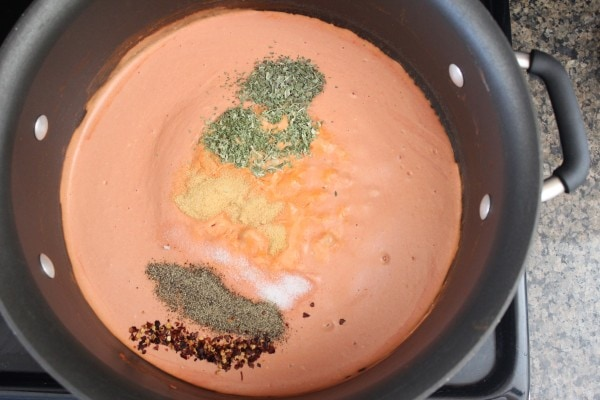 Italian Sausage Penne & Four Cheese Tomato Sauce Recipe