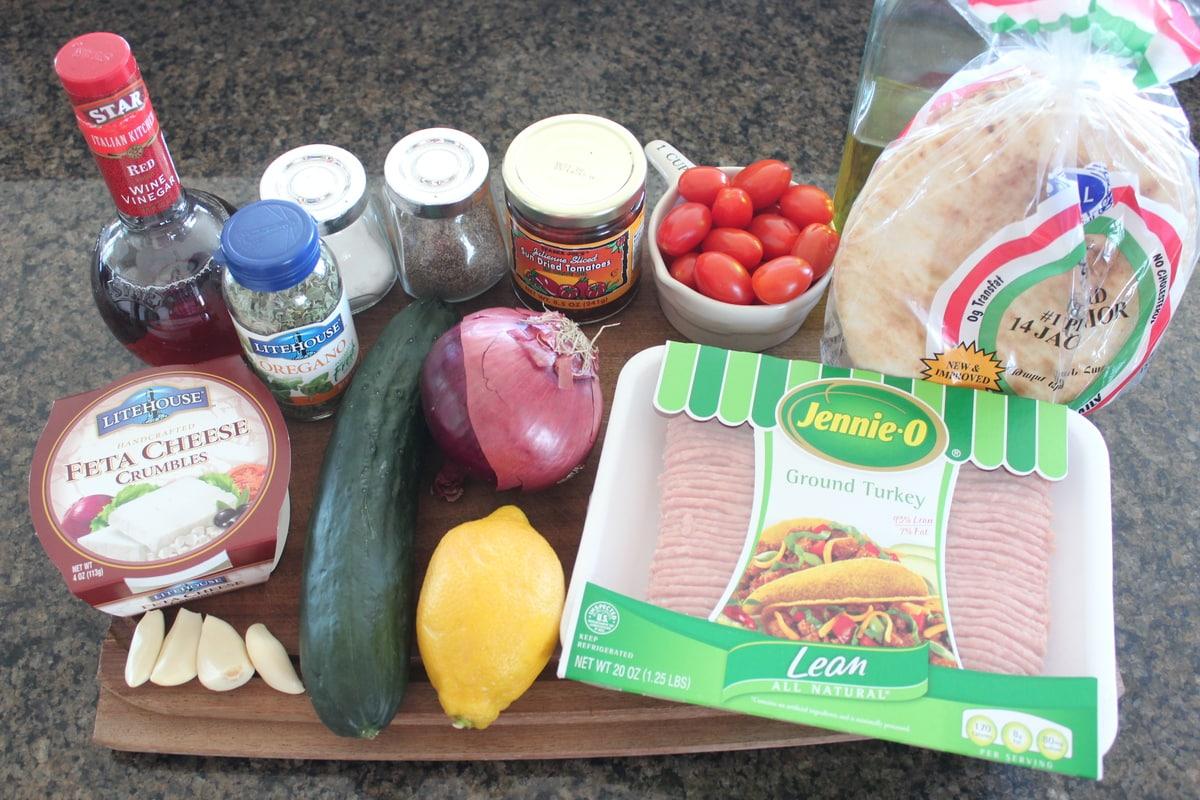 Greek Taco Recipe Ingredients
