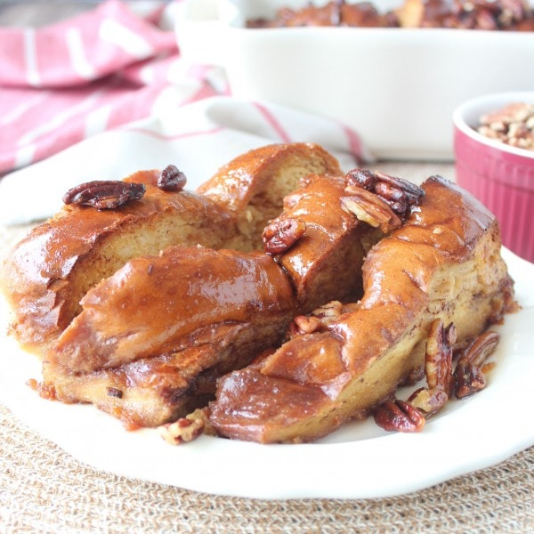 Salted Caramel French Toast Casserole Recipe