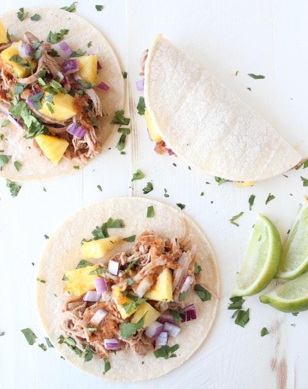 Crock Pot Tacos Al Pastor Recipe