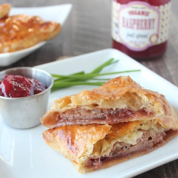 Baked Puff Pastry Prosciutto Cheddar Monte Cristo