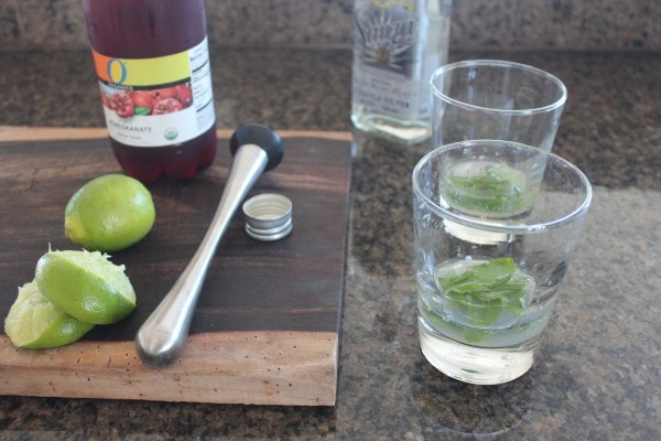Pomegranate Mint Margarita Recipe