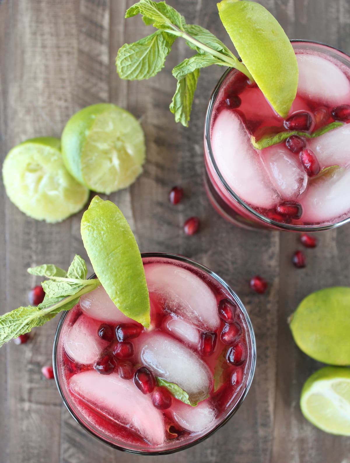 This Pomegranate Mint Margarita Recipe is the perfect combination of ...