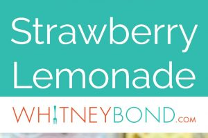 Fresh lemons and strawberries are grilled in this delicious recipe twist on strawberry lemonade, perfectly refreshing for summer BBQs!