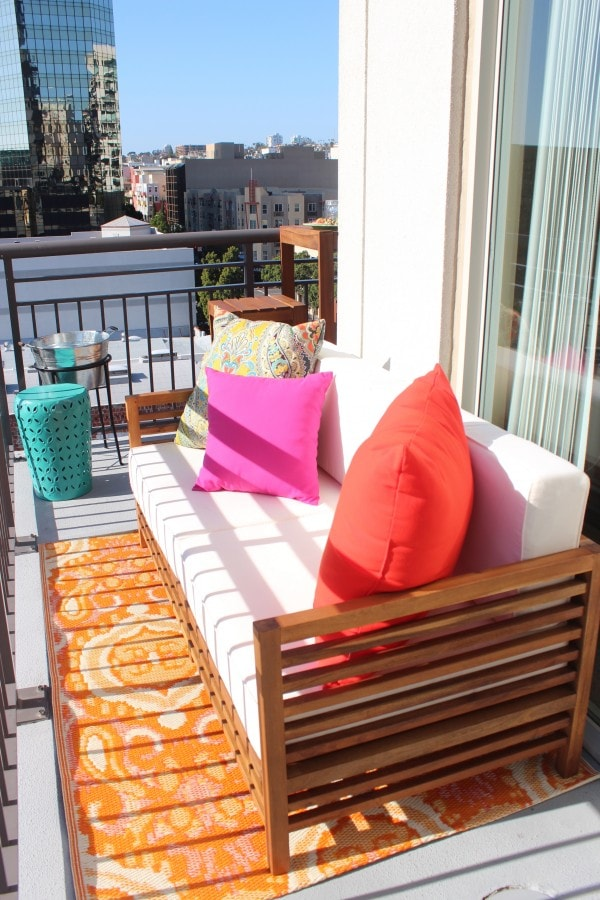 Balcony Remodel with World Market