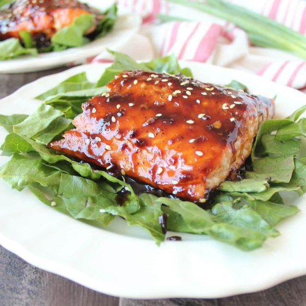 Korean BBQ Grilled Salmon Recipe