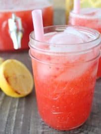 Grilled Strawberry Lemonade Recipe
