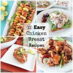 12 Easy Chicken Breast Recipes