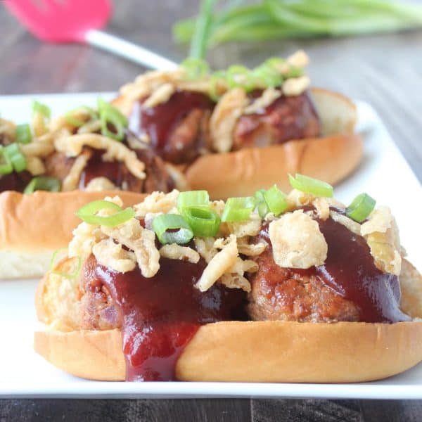 BBQ Meatball Subs Recipe