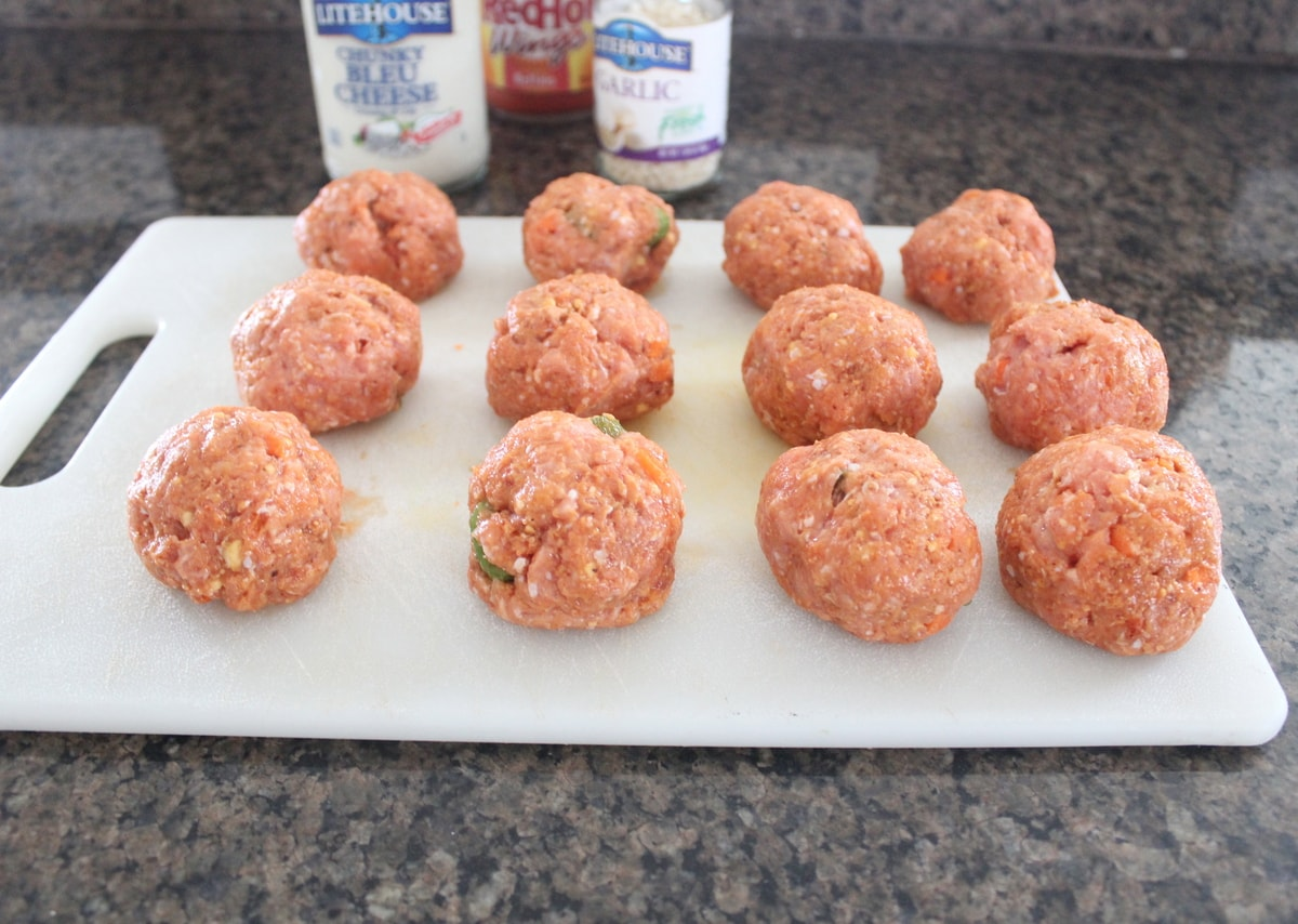 Buffalo Turkey Meatballs Recipe