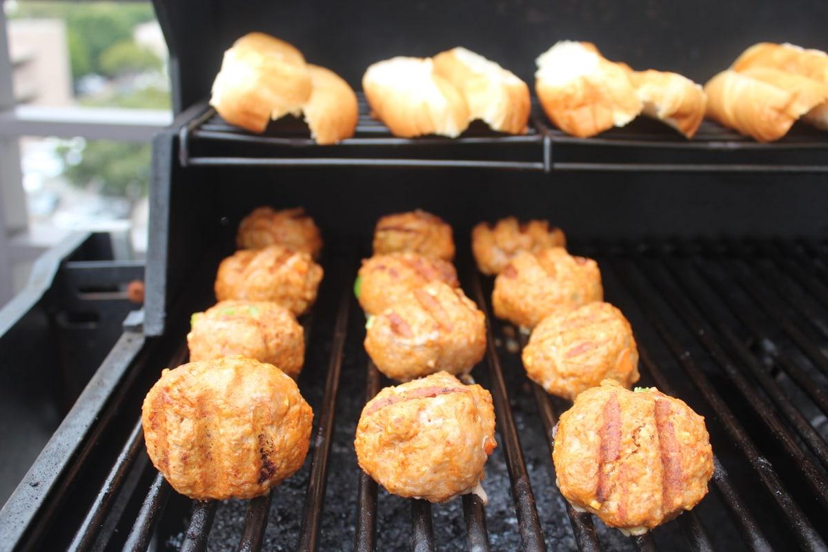 Grilled Buffalo Turkey Meatball Sub Recipe