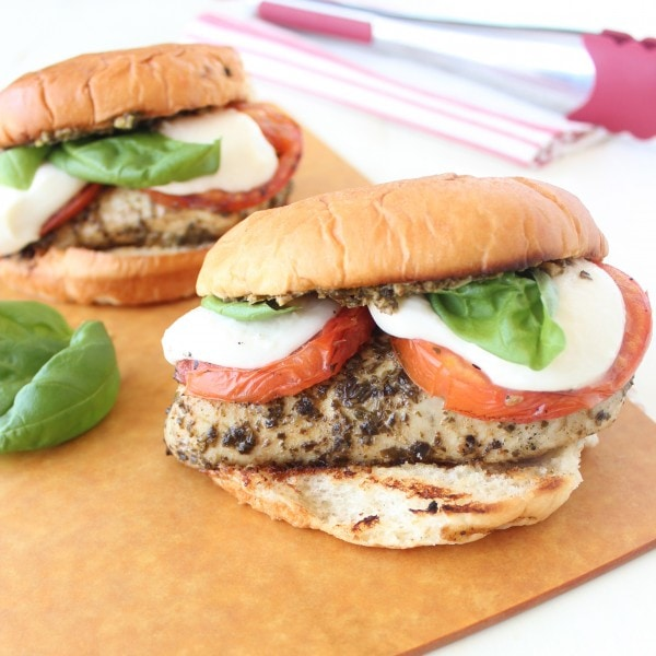 Grilled Chicken Caprese Sandwich Recipe