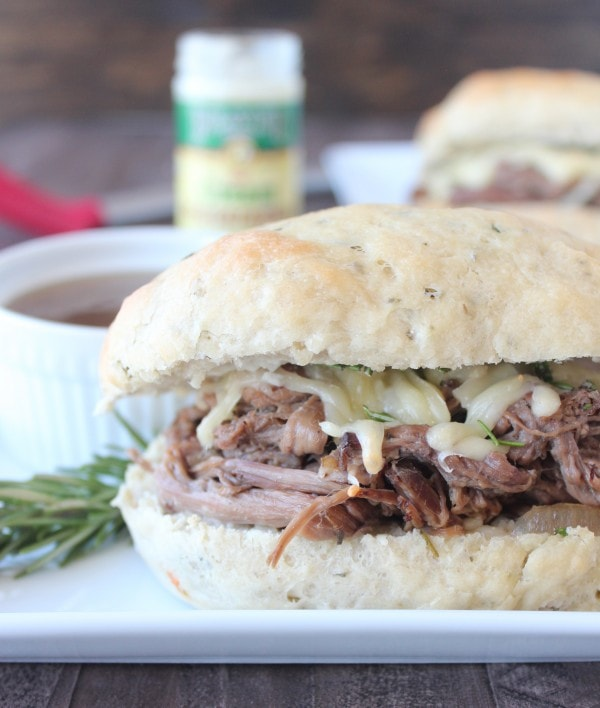 Slow Cooked Rosemary Tri Tip French Dip Recipe