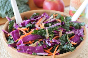 Gluten Free Kale Apple Slaw Recipe