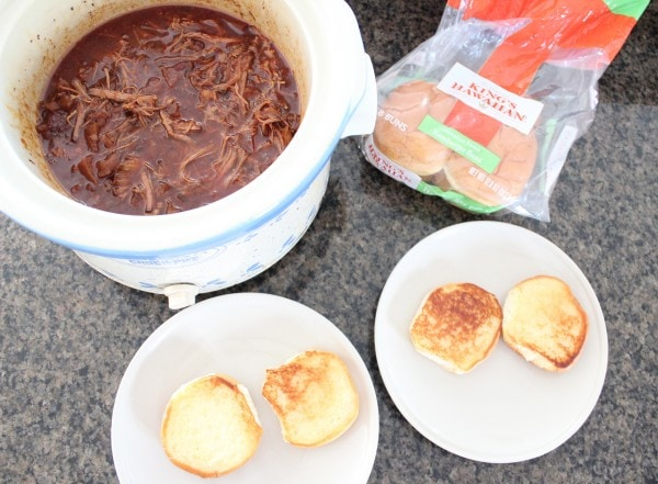 Slow Cooked Chipotle Apple BBQ Brisket Sandwich Recipe