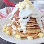 Pineapple Coconut Pancakes