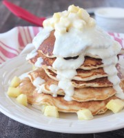 Pineapple Coconut Pancake Recipe