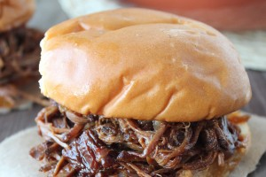 Slow Cooked BBQ Beef Brisket Sandwich Recipe