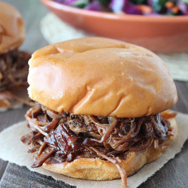 Slow Cooked BBQ Beef Brisket Sandwich Recipe