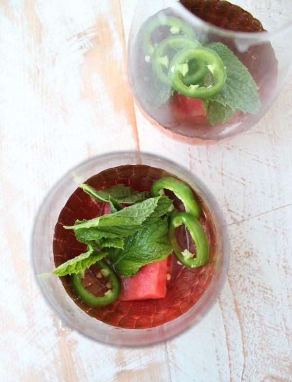 Watermelon Jalapeno Mojito Recipe