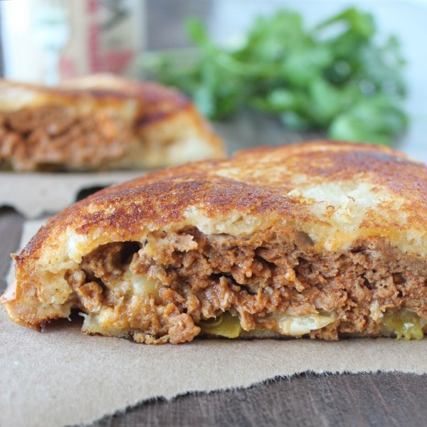 Taco Turkey Patty Melt Recipe
