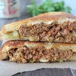Taco Turkey Patty Melt