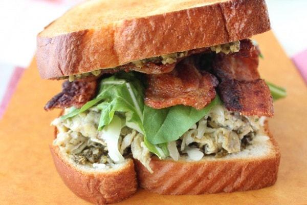 Pesto Bacon and Egg Breakfast Sandwich Recipe