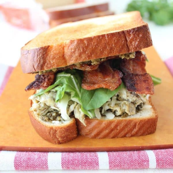 Pesto Bacon and Egg Breakfast Sandwich Recipe