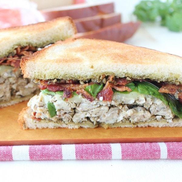 Pesto Bacon & Egg Breakfast Sandwich Recipe