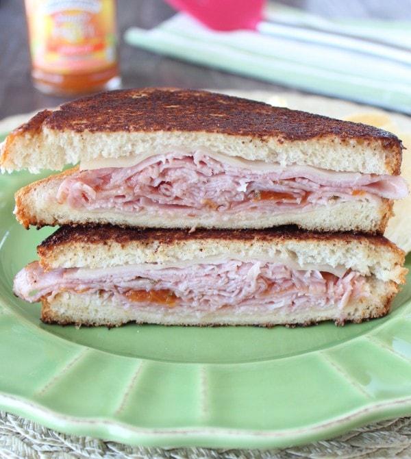 Hot Ham and Swiss Sandwich Recipe