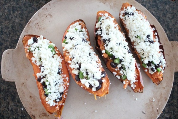 Mexican Twice Baked Sweet Potato Recipe
