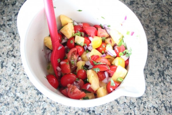 Pineapple Serrano Salsa Recipe