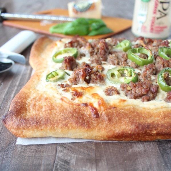 Sausage Jalapeno Pizza Recipe