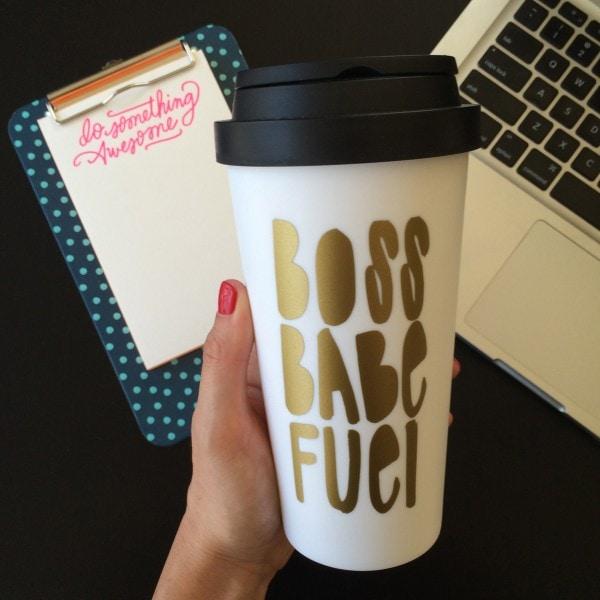 Boss Babe Fuel Mug
